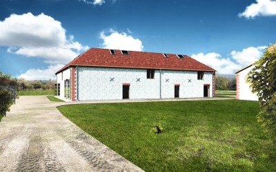 Barn for 4 bedroom conversion