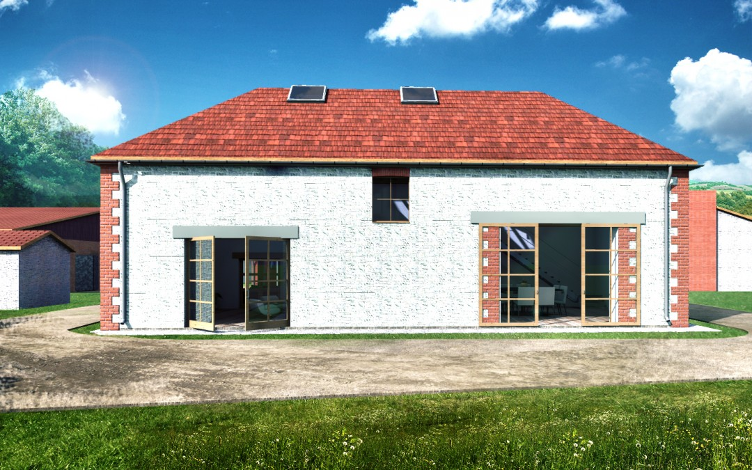 barn for residential conversion